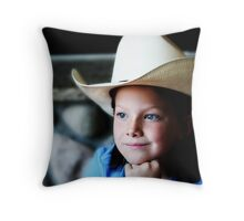 Brand New Hat Throw Pillow