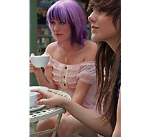 Cafe Girls 1 Photographic Print