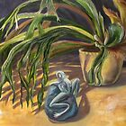 climbing frog - still life by alyona firth