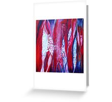 Fragmented paths Greeting Card