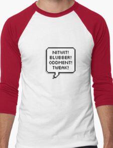 A Few Words... Men's Baseball ¾ T-Shirt
