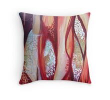 Fragmented paths II Throw Pillow