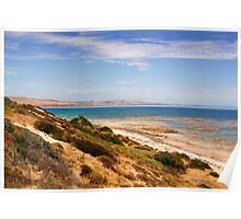 Australian Coastal Landscape Poster