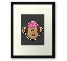 Monkey Brains Framed Print