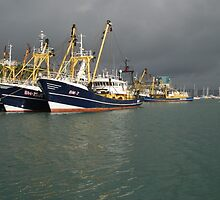 Dark skies over Brixham No2 by StephenRB