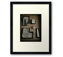 Geek or electronic or... Framed Print