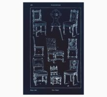 A Handbook Of Ornament With Three Hundred Plates Franz Sales Meyer 1896 0442 Furniture Chair Inverted Kids Tee
