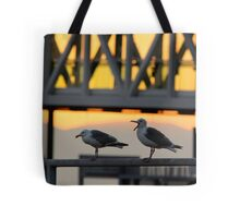 The Embers of Evening Tote Bag