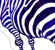Grant's Zebra Sticker