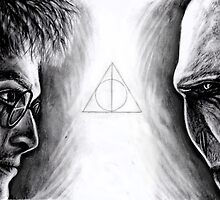 Harry vs Voldemort by Annalise Butler