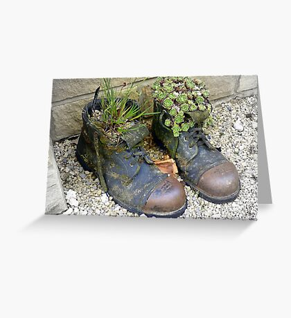 Fill yer Boots Greeting Card