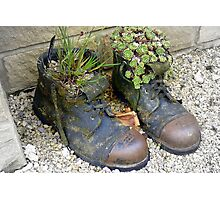 Fill yer Boots Photographic Print