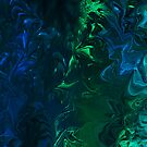 Abstract -blue and green by haya1812