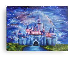 Disneyland Castle Metal Print