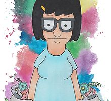 Tina belcher  by laurajean1