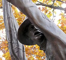 Forward!  11th Mississipi Monument at Gettysburg by lisacd1863