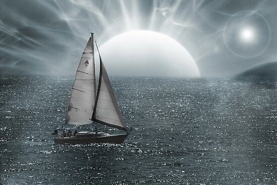 Sailing In Unknown Waters by CarolM