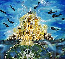 King Triton's Castle by Annalise Butler