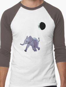 Midnight Stroll Men's Baseball ¾ T-Shirt