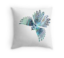 Fantail Throw Pillow