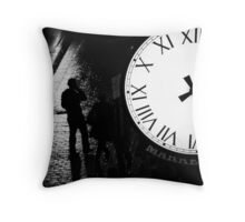 Early Morning Dark Throw Pillow
