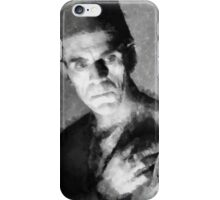 Boris Karloff by John Springfield iPhone Case/Skin