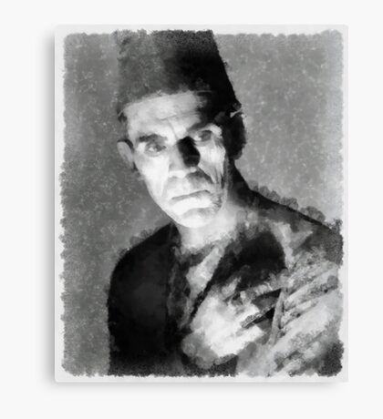 Boris Karloff by John Springfield Canvas Print