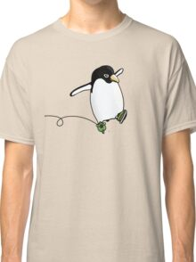 Penguin Skating Classic T-Shirt