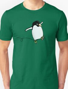 Penguin Skating Unisex T-Shirt