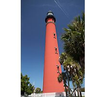 Ponce De Leon lighthouse, Florida Photographic Print