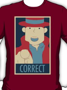 Correct, The Pointing Finger T-Shirt