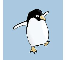 Penguin Learning to Fly Photographic Print