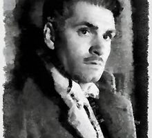 Laurence Olivier by John Springfield by esotericaart