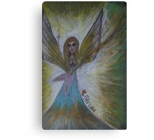 Rock & Roll Angel Canvas Print