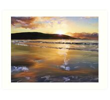 Emu Point Sunrise Art Print