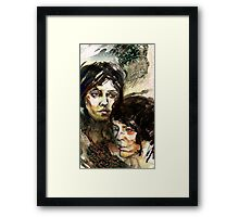 Portraits of Tegan and Sara Framed Print