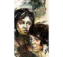 Portraits of Tegan and Sara Photographic Print