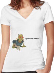 Rick and Morty: I Just Love Killin' Women's Fitted V-Neck T-Shirt