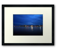 Evening at Home Framed Print