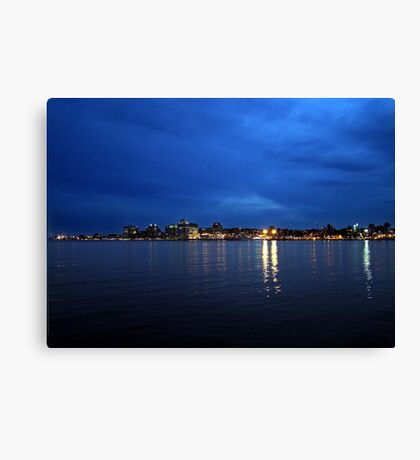 Evening at Home Canvas Print