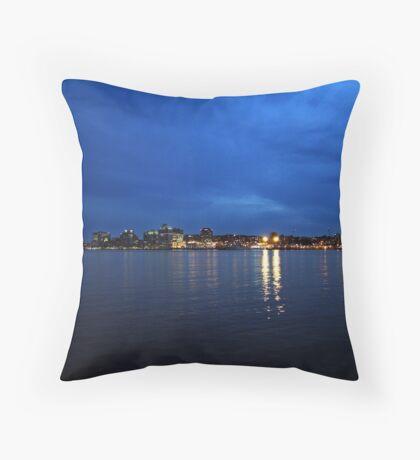Evening at Home Throw Pillow
