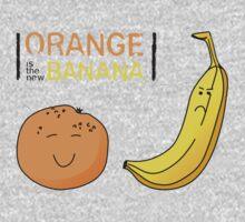 Orange is the new Banana One Piece - Long Sleeve