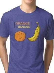 Orange is the new Banana Tri-blend T-Shirt