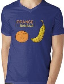 Orange is the new Banana Mens V-Neck T-Shirt