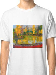 The colours of autumn, Malmsbury VIC Australia Classic T-Shirt