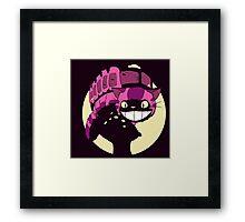 Cheshire no totoro - original Framed Print