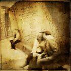 Lovers in the Musée Carnavalet by dawne polis