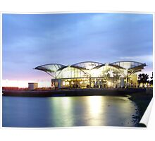 geelong carousel at dawn Poster