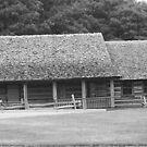 Log Cabin by Missy Yoder