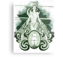 Nunc Minerva postea palas (1.0) Metal Print